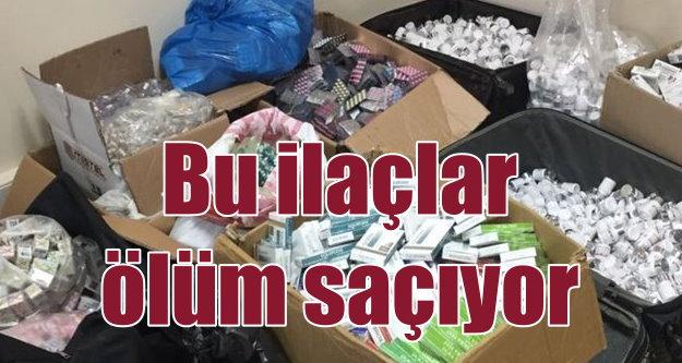 Ölüm saçan ilaçlara operasyon: Bursa'da binlerce kutu toplatıldı