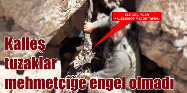 PKK mağaraları tek tek imha ediliyor