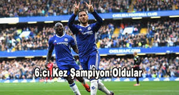 Premier Lig şampiyonu Chelsea oldu