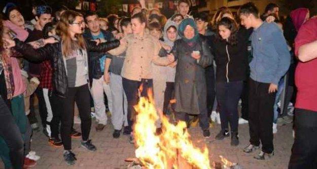 Sarıyer'de ilk Hıdrellez ateşini mübadiller yaktı