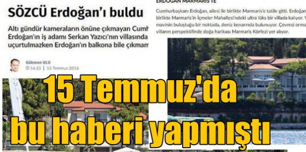 Sözcü Gazetesi Muhabiri Gökmen Ulu gözaltında