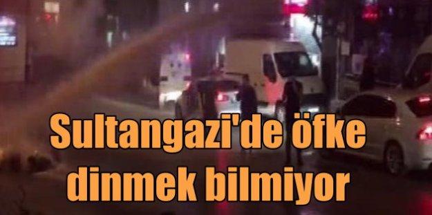 Sultangazi'de olaylar yeniden patlak verdi