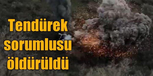 Tendürek'te büyük operasyon; Sorumluları da öldürüldü