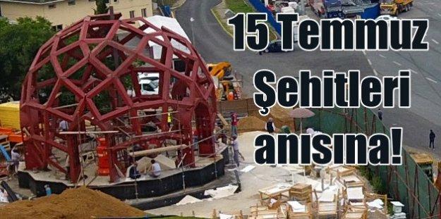 15 Temmuz Şehitleri için Anadolu yakasına dev anıt