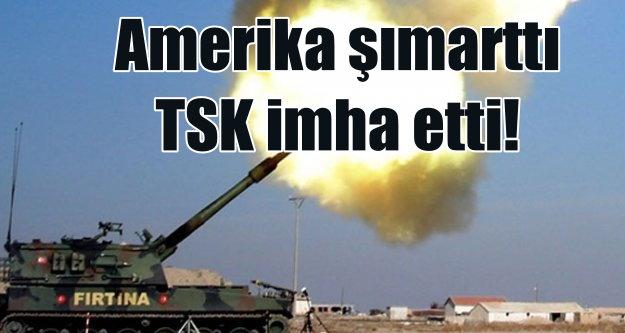 Amerika şımarttı, El-Bab'a yönelen PKK'lıları Türk topçusu vurdu