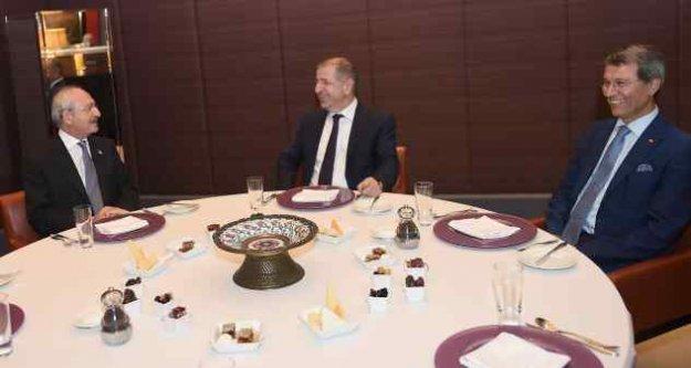 Ankara'da sürpriz buluşma: Kılıçdaroğlu, Özdağ ile iftar açtı