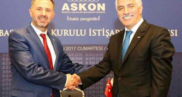 ASKON'da Hasan Ali Cesurdönemi başladı