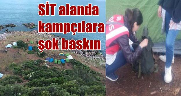 Burgazada'ya helikopterli operasyon: SİT alanı işgalcilerine ceza