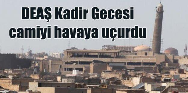 DAEŞ, tarihi camiyi havaya uçurdu; Kadir Gecesi görülmemiş saldırı
