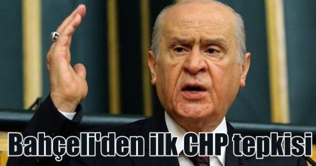 Devlet Bahçeli; CHP ön yargı ile kıyamet koparıyor