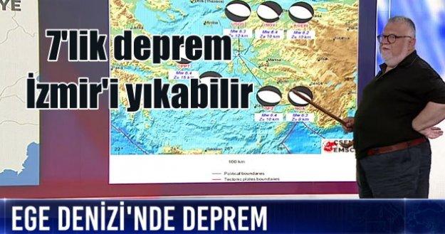 Ege'de deprem; Şengör Hoca İzmir'i uyardı
