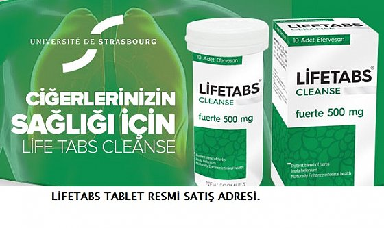 Fransızların Dünyaya kazandırdığı mucizevi ürün: Lifetabs!