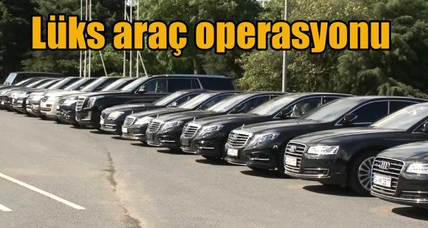Jandarma'dan lüks araç operasyonu: Kaçak otolar toplanıyor