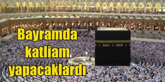 Kabe'yi kana bulayacaklardı; Teröristler en kutsal mekanı hedef aldı