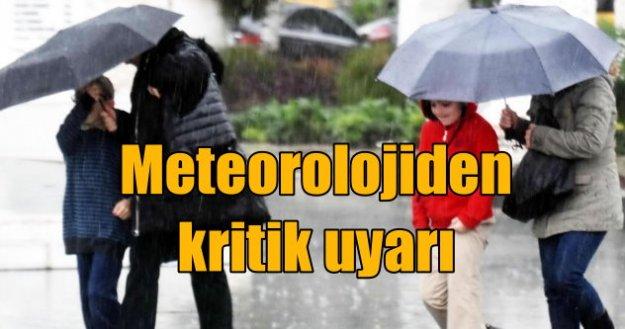 Meteoroloji Marmara ve İstanbul'u uyardı