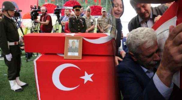 Ordulu Şehit Uzman Çavuş Onur Tiken toprağa verildi