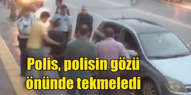 Polis, kuzenleri ile bir oldu, gariban vatandaşı öldüresiye dövdü