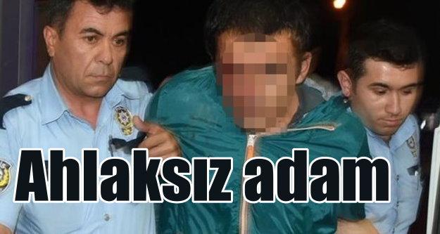 Ramazan ayında sapıklık; Linçten polis kurtardı