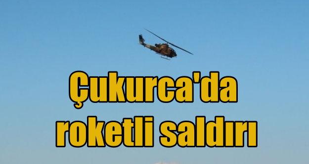 Teröristler, Çukurca'da helikopter vurdu