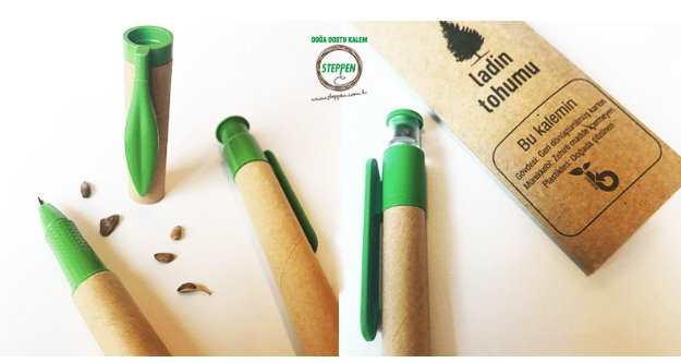 Tohumlu Kalem İle Toprağa Bir Ağaç Verin