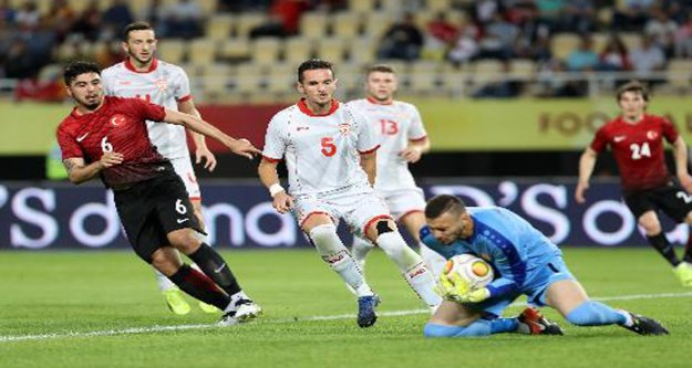 Türkiye 0-Makedonya 0