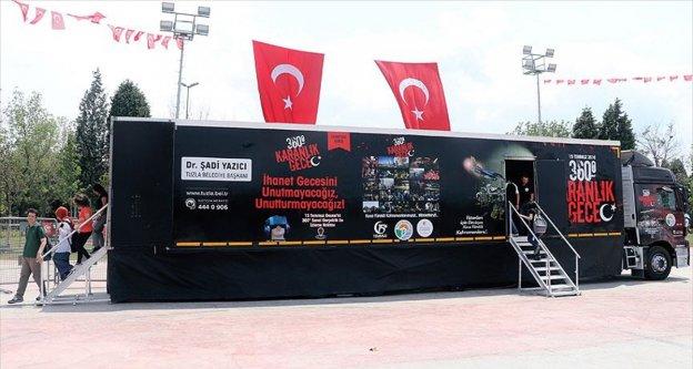 '360 derece, karanlık gece' tırı Türkiye turunda