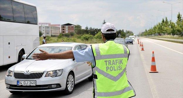 81 ilde trafik denetimi