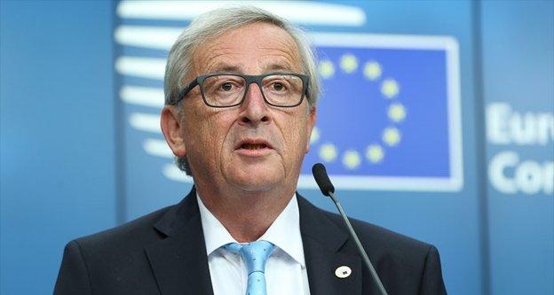 AB Komisyonu Başkanı Juncker'dan Türkiye mesajı