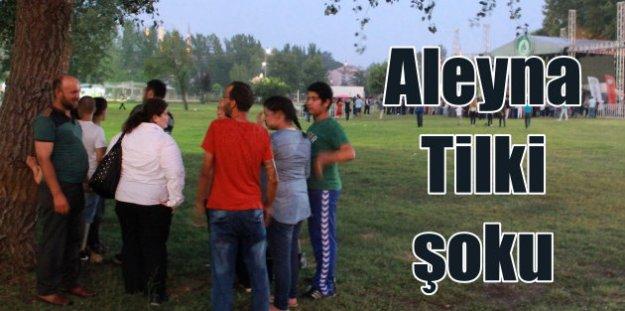 Aleyna Tilki, hayranlarını şoke etti; Konser iptal