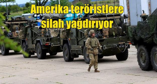 Amerika PKK'ya 195 TIR dolusu silah gönderdi