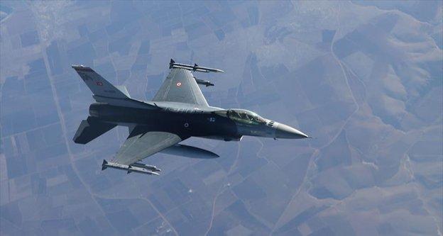 Avaşin-Basyan bölgesine hava harekatında 4 terörist etkisiz hale getirildi