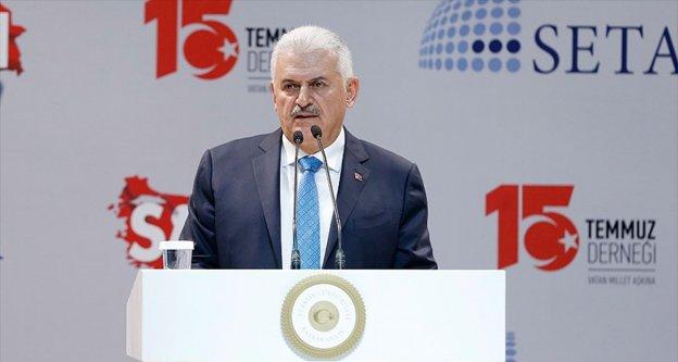 Başbakan Yıldırım: Türkiye 15 Temmuz'da en vahşi darbe girişimiyle karşılaştı