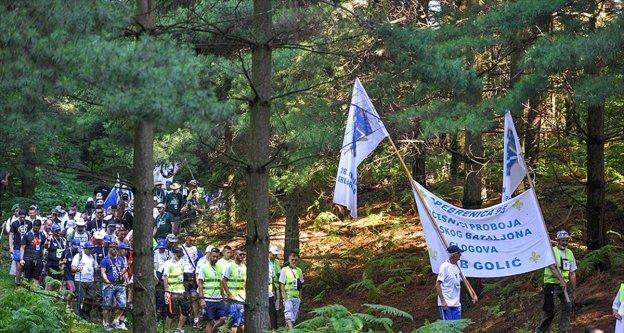 Bosna Hersek'te 'Barış Yürüyüşü' başladı
