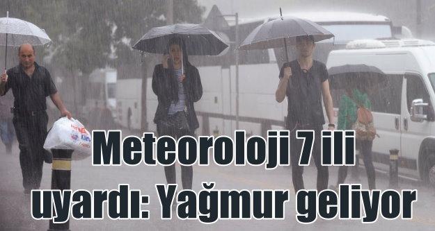 Bugün hava nasıl olacak; Yağmur uyarısı