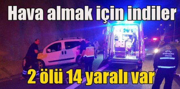 Bursa'da öğrencilerin arasına kamyonet daldı, 2 öğrenci öldü