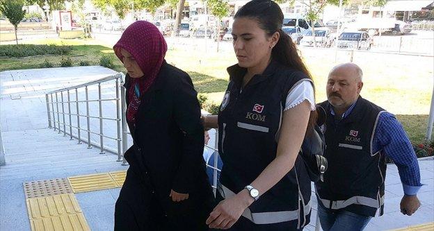 Cezaevine mektup sokmaya çalışan FETÖ sanığının eşi tutuklandı
