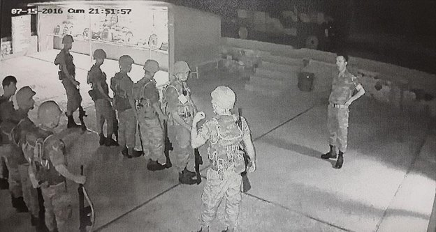 Darbe girişiminde 3. Ordu'da yaşananlar kameraya yansıdı