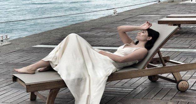 Deniz Çakır'dan görsel şov