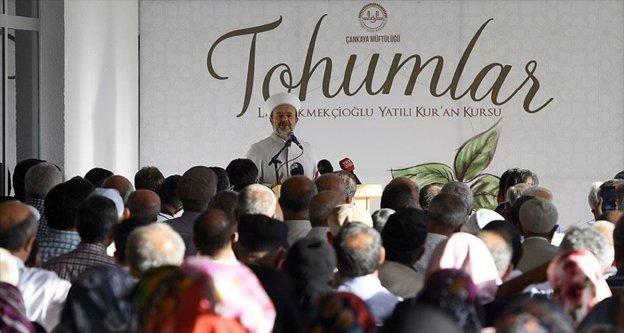 Diyanet İşleri Başkanı Görmez: Kur'an-ı Kerim'i okuyan güzel anlayacak ve güzel yaşayacak