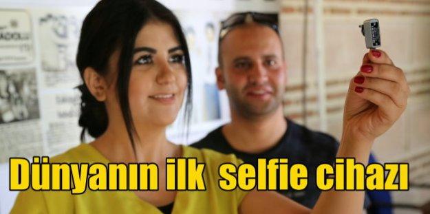 Dünyanın ilk selfie makinası Odunpazarı'nda