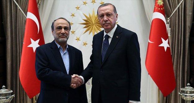 Erdoğan, Libya Devlet Yüksek Konseyi Başkanı Suveyhili'yi  kabul etti