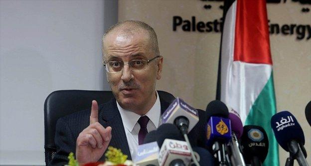 Filistin Başbakanı Hamdallah: İsrail'in ihlalleri Aksa'nın kutsiyetine zarar vermeyi amaçlıyor