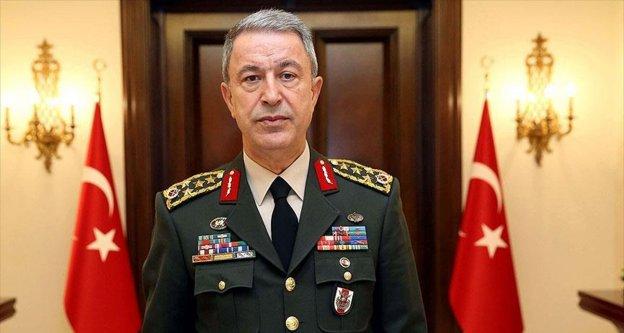 Genelkurmay Başkanı Orgeneral Akar: Bizler için en önemli husus, en büyük takdir güvenilmektir