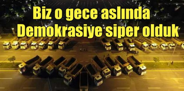 Hafriyatçıların 15 Temmuz destanı; Murat Topçu, Darbe gecesi tarih yazdık