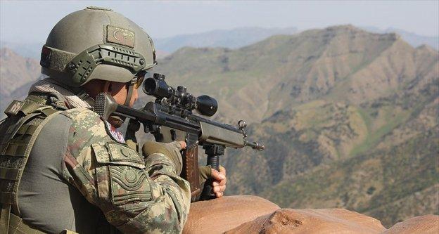 Hakkari'de bir PKK'lı terörist etkisiz hale getirildi