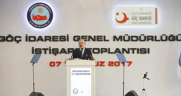 İçişleri Bakanı Soylu: Avrupa 16 Nisan kadar milyonlarca mülteciyi dert edinmedi