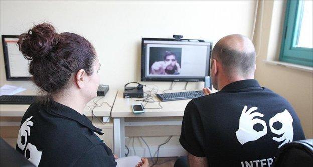 İşitme engelli sporcular için görüntülü çağrı merkezi
