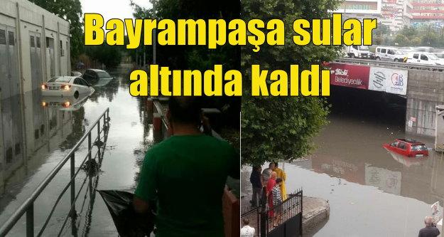İstanbul'da yağmur: 12 saatte bir yıllık yağmur düştü