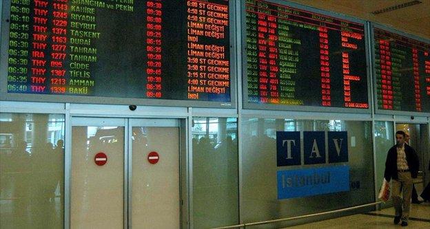 İstanbul'daki şiddetli yağış hava ulaşımını da etkiledi