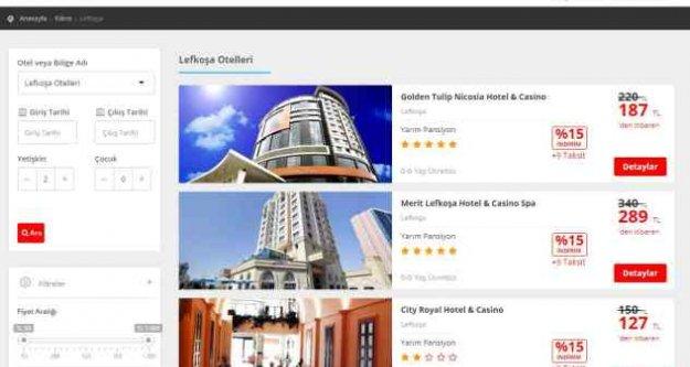 Kıbrıs'ın en güzel Lefkoşa otelleri